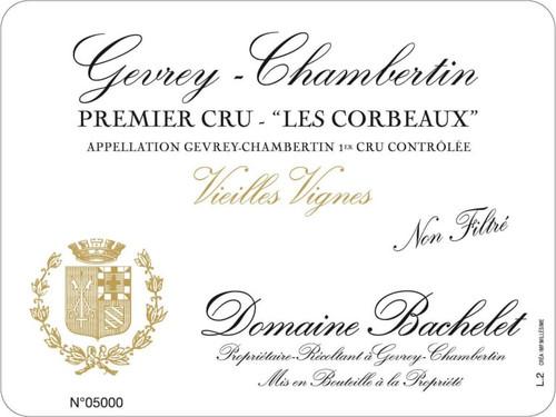Bachelet/Denis Gevrey-Chambertin 1er cru Les Corbeaux 2017