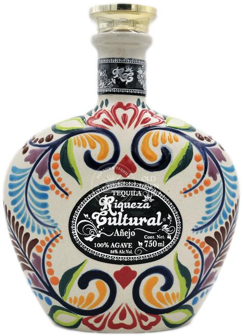 Riqueza Cultural Cerámica Añejo Tequila