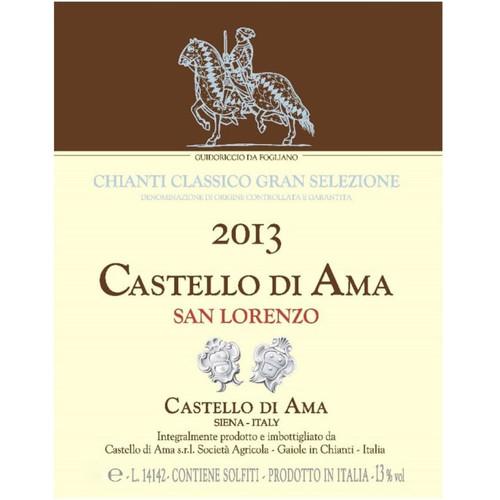 Castello di Ama Chianti Classico San Lorenzo Gran Selezione 2013 1.5L
