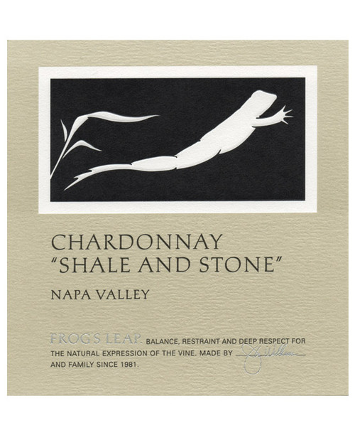 Frog's Leap Chardonnay Napa Valley Shale and Stone 2018 375ml