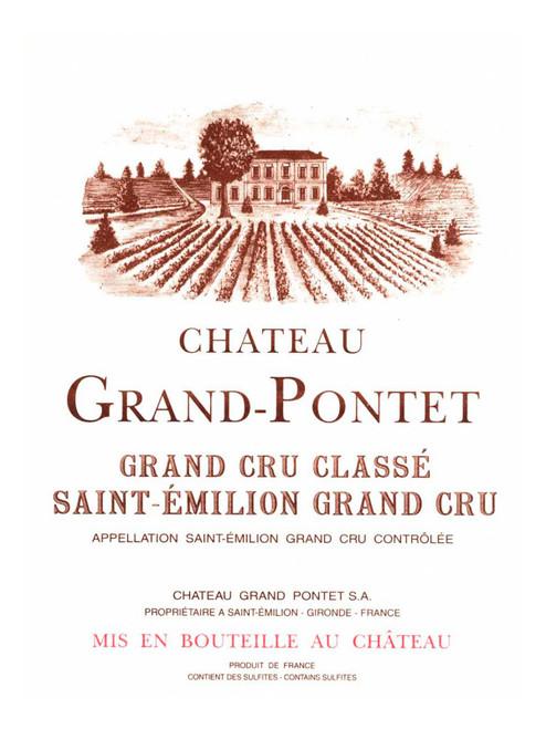 Grand-Pontet St-Émilion 2010 1.5L