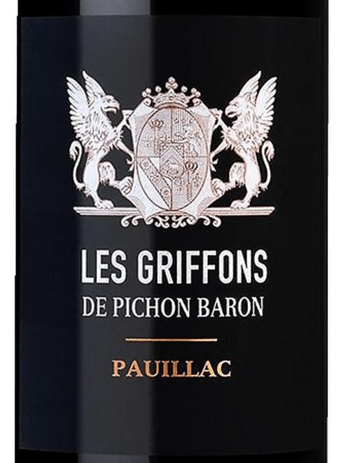 Pichon Baron Pauillac Les Griffons de Pichon Baron 2015