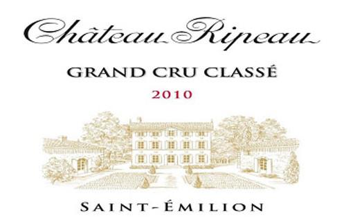 Ripeau St-Emilion 2010