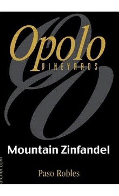 Opolo Mountain Zinfandel Paso Robles 2018
