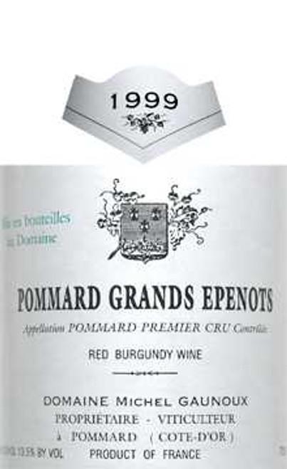 Gaunoux/Michel Pommard 1er cru Grands Epenots 1999