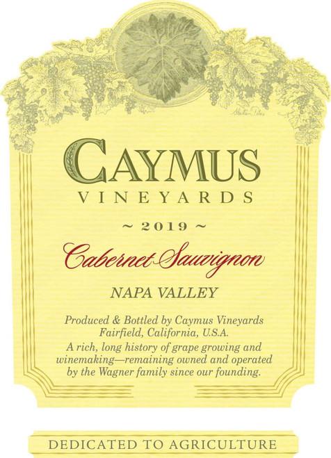 Caymus Cabernet Sauvignon Napa Valley 2019 1L