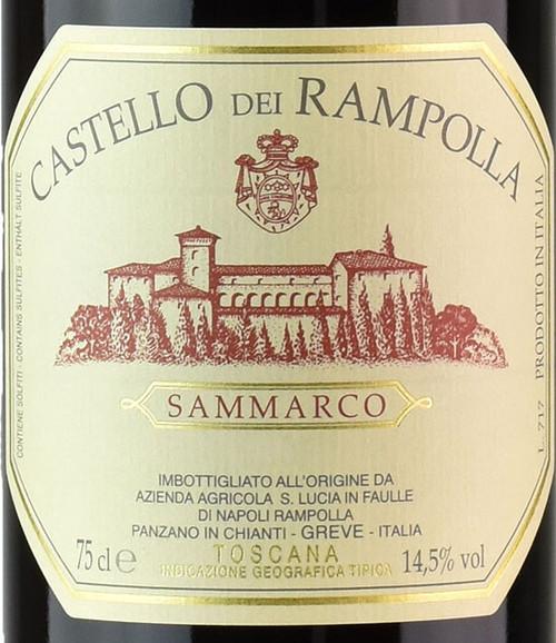 Castello dei Rampolla Toscana Sammarco 2017