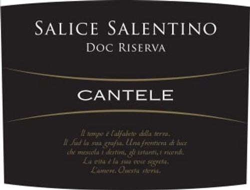 Càntele Salice Salentino Riserva 2015