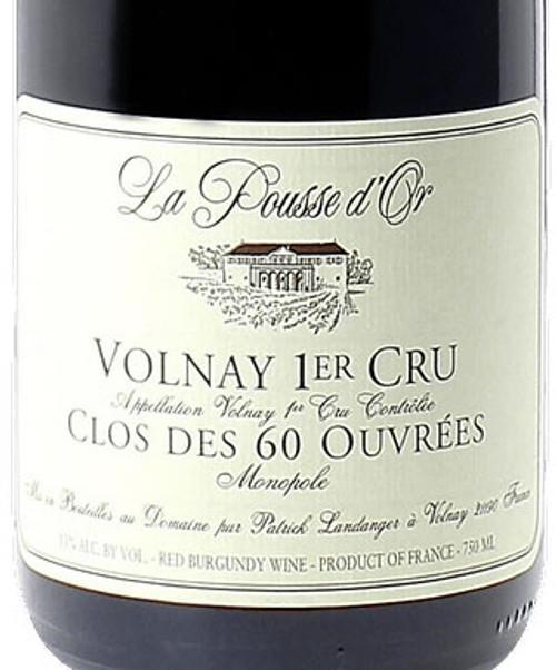 Pousse d'Or Volnay 1er cru Caillerets Clos des 60 Ouvrées 2018
