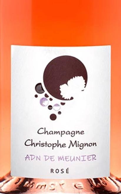 Mignon/Christophe Brut Rosé Champagne ADN de Meunier NV