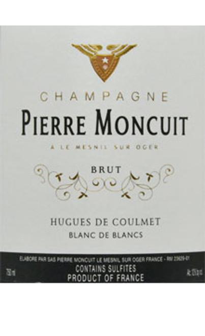 Moncuit/Pierre Brut Champagne Blanc de Blancs Hugues de Coulmet NV