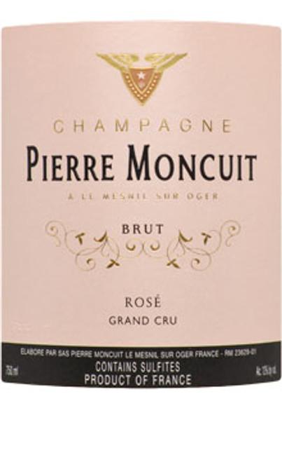 Moncuit/Pierre Brut Rosé Champagne Grand Cru NV