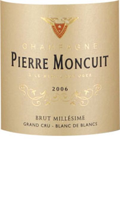 Moncuit/Pierre Brut Blanc de Blancs Champagne Grand Cru Millesime 2006
