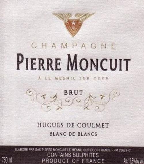 Moncuit/Pierre Brut Champagne Blanc de Blancs Hugues de Coulmet NV 1.5L