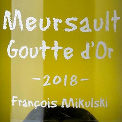 Mikulski/François Meursault 1er cru Gouttes d'Or 2018