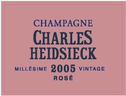 Heidsieck/Charles Brut Rosé Champagne 2005