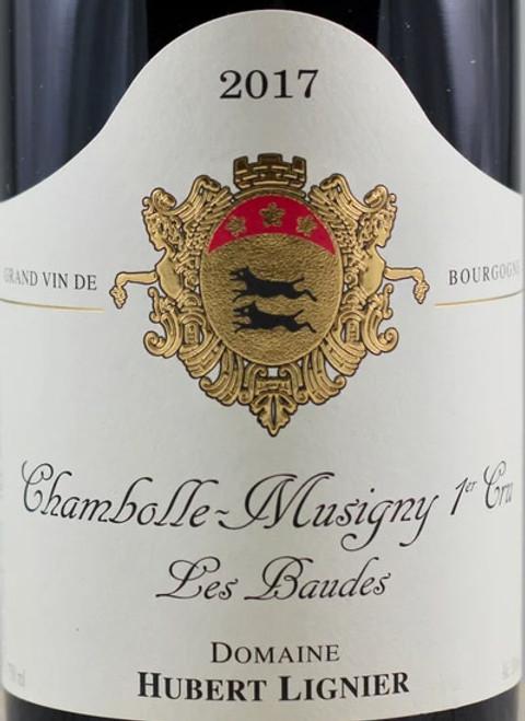 Lignier/Hubert Chambolle-Musigny 1er cru Les Baudes 2017