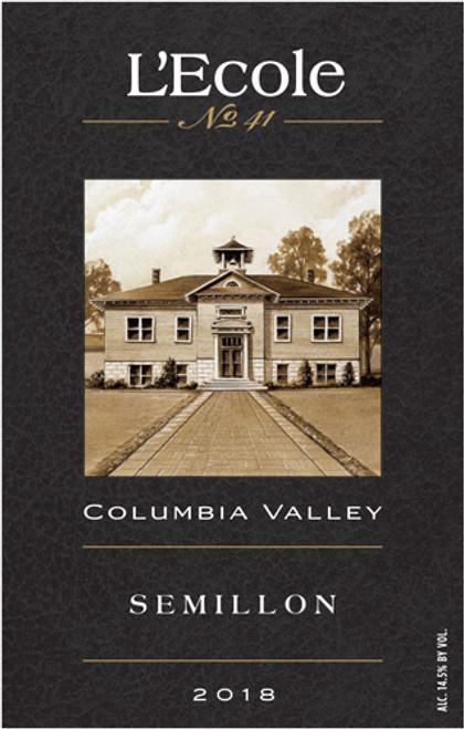 L'Ecole No. 41 Sémillon Columbia Valley 2018