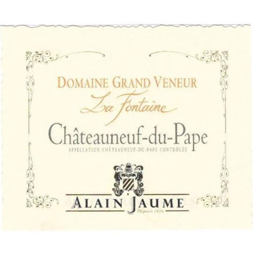 Grand Veneur Châteauneuf-du-Pape Blanc La Fontaine 2019
