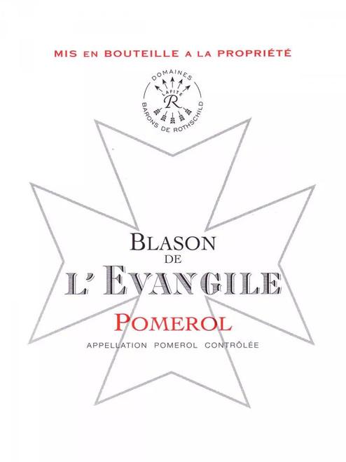 L'Évangile Pomerol Blason de L'Évangile 2016
