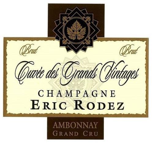 Rodez/Eric Champagne Grand Cru Cuvée des Grands Vintages NV