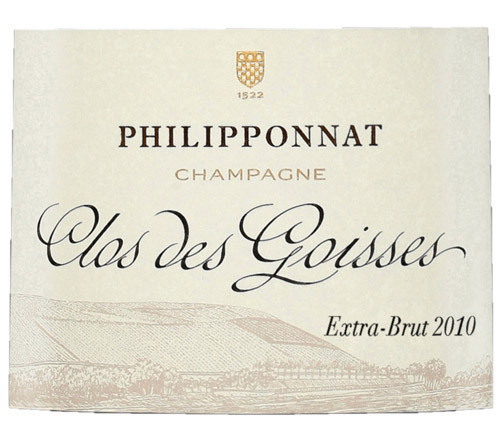 Philipponnat Extra Brut Champagne Clos des Goisses 2010 1.5L