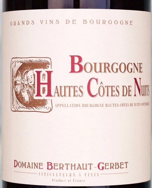 Berthaut-Gerbet Bourgogne Hautes-Côtes de Nuits Rouge 2017
