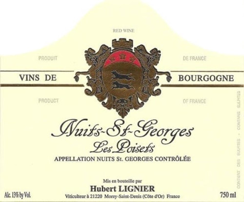Lignier/Hubert Nuits-St.-Georges Les Poisets 2017