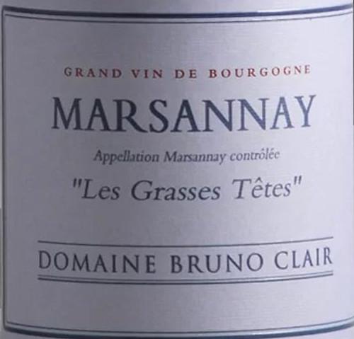 Clair/Bruno Marsannay Rouge Les Grasses Têtes 2017