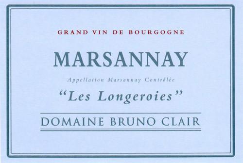 Clair/Bruno Marsannay Les Longeroies 2017