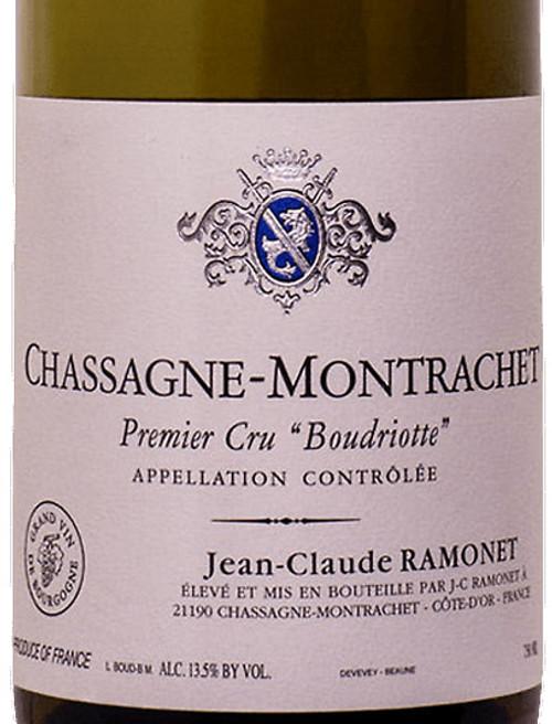 Ramonet Chassagne-Montrachet 1er cru Boudriotte 2015