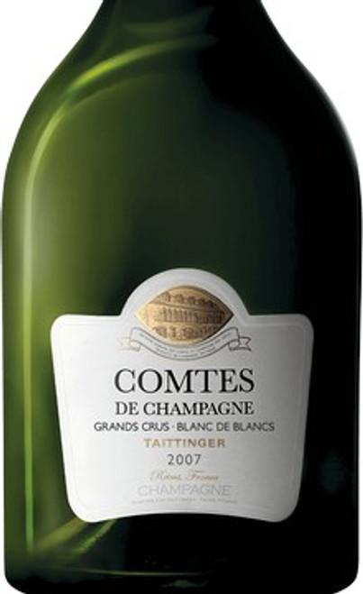 Taittinger Brut Blanc de Blancs Comtes de Champagne 2007