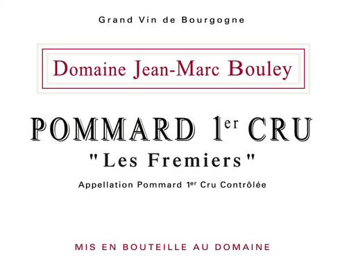 Bouley/Jean-Marc Pommard 1er cru Fremiers 2018