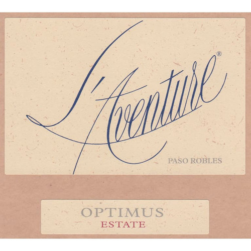 L'Aventure Optimus Paso Robles Estate 2018
