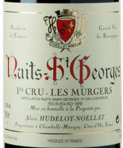 Hudelot-Noëllat Nuits-St.-Georges 1er cru Les Murgers 2018
