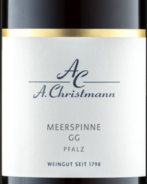 Christmann Riesling Pfalz Meerspinne im Mandelgarten GG 2019