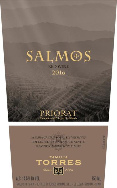Torres Salmos Priorat 2016