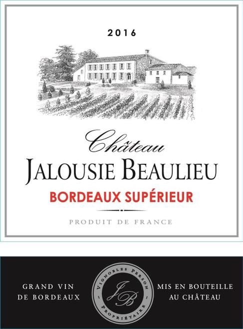Jalousie Beaulieu Bordeaux Supérieur 2016