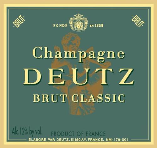 Deutz Brut Champagne Classic NV 3L