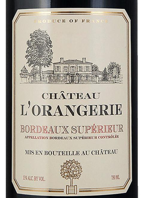 L'Orangerie Bordeaux Supérieur 2018