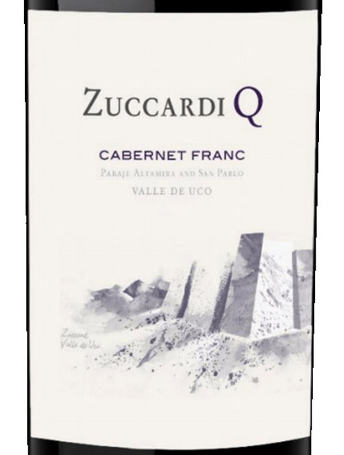 Zuccardi Cabernet Franc Uco Valley Q 2018