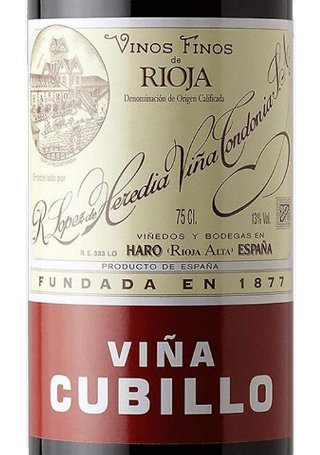 López de Heredia Rioja Viña Cubillo Crianza 2012