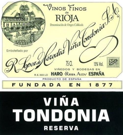López de Heredia Rioja Viña Tondonia Reserva 2008 375ml