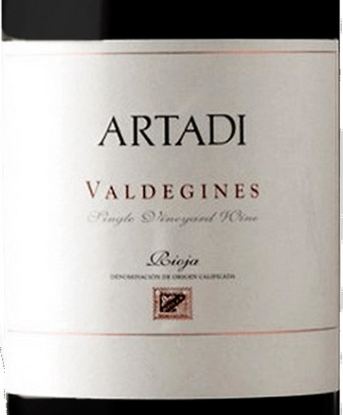 Artadi Valdeginés Single Vineyard 2018