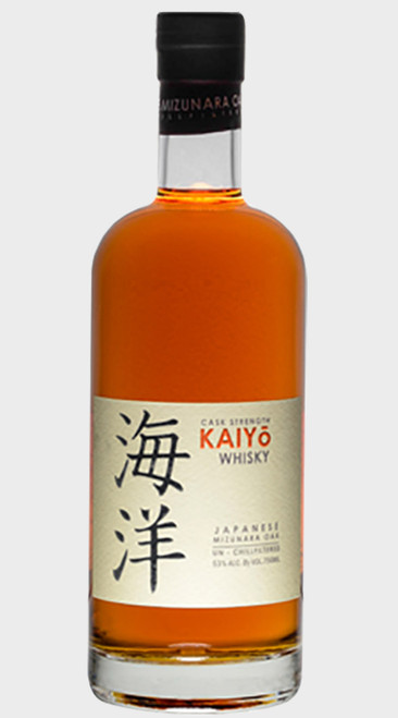 Kaiyo Mizunara Oak Japanese Whisky Cask Strength