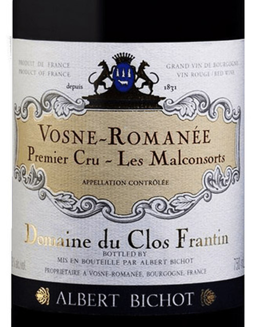 Clos Frantin (Bichot) Vosne-Romanée 1er cru Malconsorts 2018