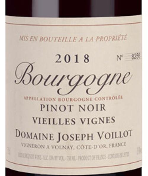 Voillot/Joseph Bourgogne Pinot Noir 2018