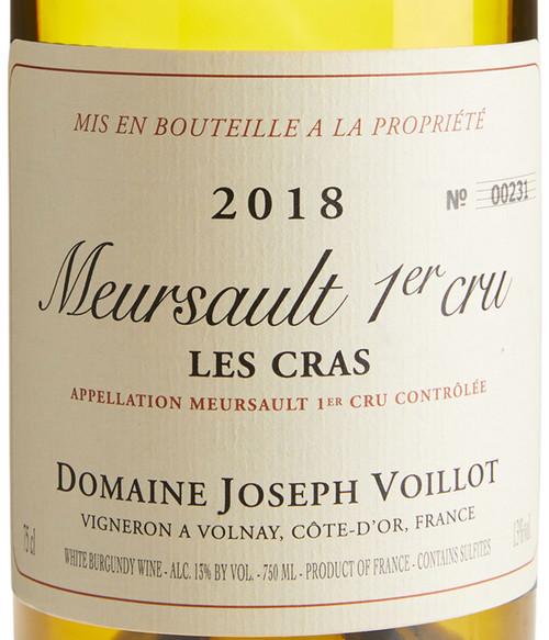 Voillot/Joseph Meursault 1er cru Les Cras 2018
