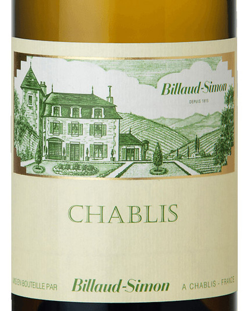 Billaud-Simon Chablis 2019