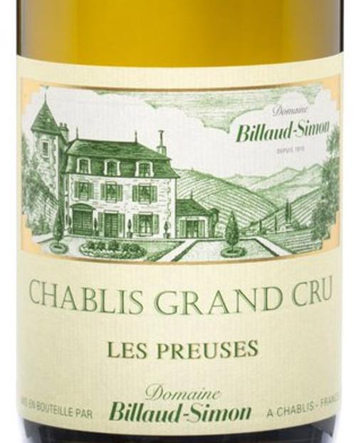Billaud-Simon Chablis Grand Cru Preuses 2019